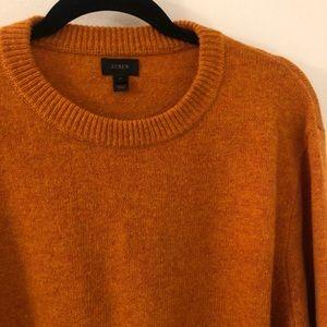 J.crew round neck wool sweater